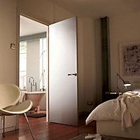 Flush Primed White LH & RH Internal Door, (H)2040mm (W)726mm