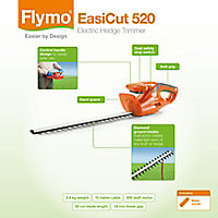 Flymo Easicut 500W 500mm Corded Hedge trimmer