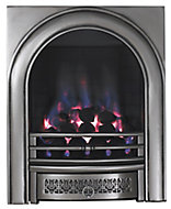 Focal Point Arch Chrome effect Gas Fire