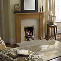 Focal Point Blenheim Brass effect Slide control Gas Fire FPFBQ225