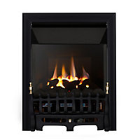 Focal Point Blenheim high efficiency Black Gas Fire