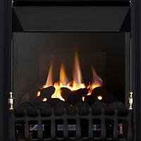 Focal Point Blenheim high efficiency Black Manual control Gas Fire FPFBQ288