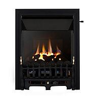 Focal Point Blenheim high efficiency Black Slide control Gas Fire FPFBQ289