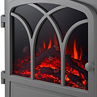 Focal Point Cardivik Grey Electric Stove
