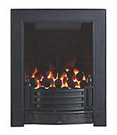 Focal Point Finsbury full depth Black Manual control Gas Fire FPFBQ521
