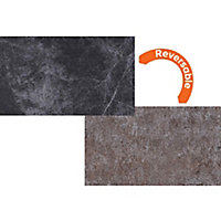 Focal Point Granite & stone Reversible Hearth, (L)1334mm (W)1334mm (D)362mm