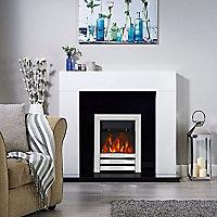 Focal Point Langham Chrome effect Fire