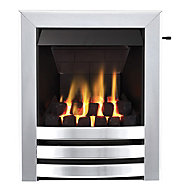 Focal Point Langham multi flue Chrome effect Gas Fire