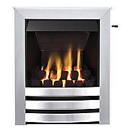 Focal Point Langham multi flue Chrome effect Slide control Gas Fire FPFBQ267