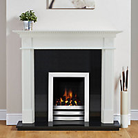 Focal Point Woodthorpe White Fire surround