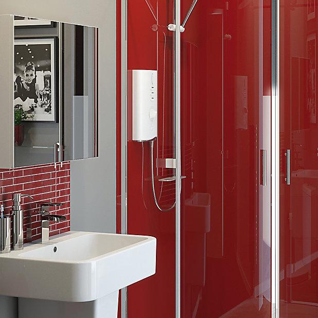Fonteno Double Door Mirrored Cabinet W 600mm D 550mm Diy At B Q