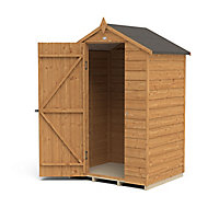Forest Garden 4x3 Apex Overlap Wooden Shed