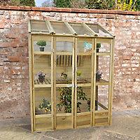 Forest Garden 5x2 Styrene Pent Greenhouse