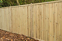 Forest Garden Decibel Noise Reduction Fence panel (W)1.83m (H)1.8m, Pack of 5