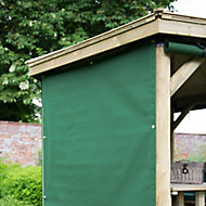 Forest Garden Green Rectangular Side curtain, (W)2.2m Pack of 6 - Assembly not required
