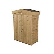 Forest Garden Overlap Wooden 3x2 Apex Garden storage
