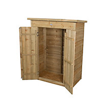 Forest Garden Overlap Wooden 3x2 Pent Garden storage