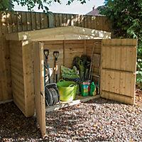 Forest Garden Overlap Wooden 6x3 Apex Garden storage