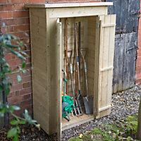Forest Garden Shiplap Wooden 3x2 Pent Garden storage