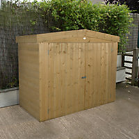 Forest Garden Shiplap Wooden 6x3 Apex Garden storage