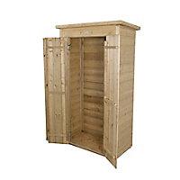 Forest Garden Shiplap Wooden 990 x 470mm Pent Garden storage