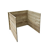 Forest Garden Slot down Composter extension kit 650L