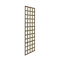 Forest Garden Square Pressure treated Trellis panel (W)0.61m (H)1.83m