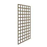 Forest Garden Square Pressure treated Trellis panel (W)0.9m (H)1.83m