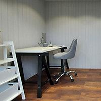 Forest Garden Xtend+ 10x9 Pent Tongue & groove Garden office with Double door