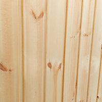 Forest Garden Xtend+ 13x11 Pent Tongue & groove Cabin - Assembly service included
