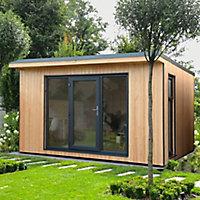 Forest Garden Xtend 13x11 Pent Tongue & groove Garden office