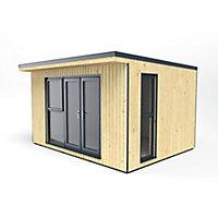 Forest Garden Xtend+ 13x11 Pent Tongue & groove Garden office