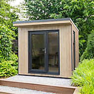 Forest Garden Xtend 8x9 Pent Tongue & groove Cabin - Assembly service included