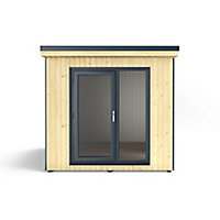 Forest Garden Xtend+ 8x9 Pent Tongue & groove Cabin - Assembly service included