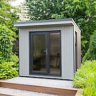 Forest Garden Xtend 8x9 Pent Tongue & groove Cabin with Single door