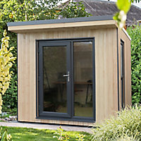 Forest Garden Xtend+ 8x9 Pent Tongue & groove Garden office - Assembly service included