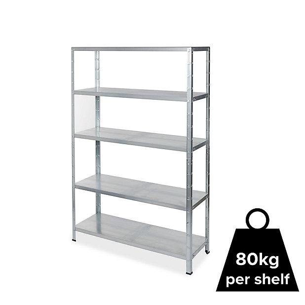 Form Axial 5 Shelf Steel Shelving Unit H 1800mm W 1200mm Diy At B Q