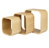 Form Cusko Cube Cube shelf (D)155mm, Set of 3