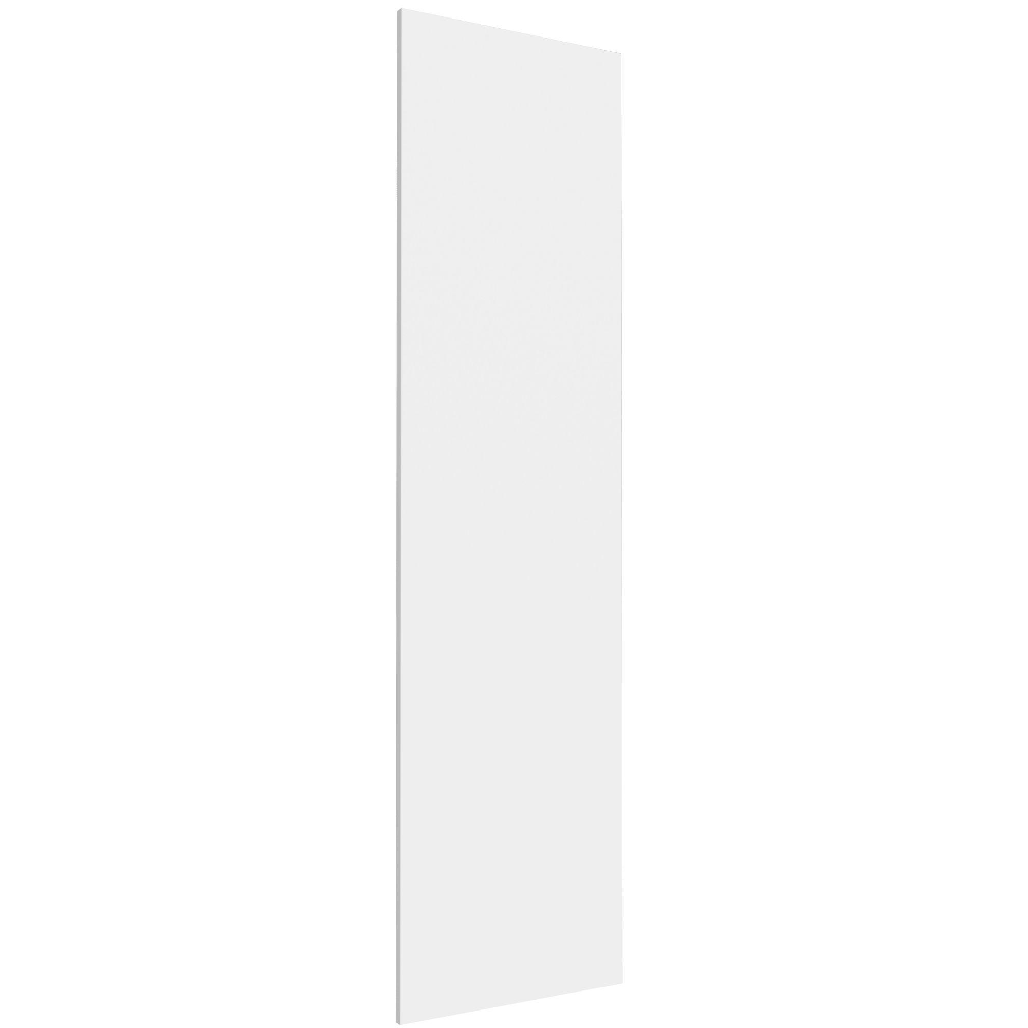 Form Darwin Modular Matt white Wardrobe door (H)1936mm (W)497mm