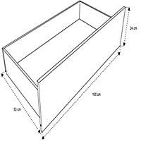 Form Darwin Modular Oak effect External Drawer (H)237mm (W)1000mm (D)566mm, Pack of 2