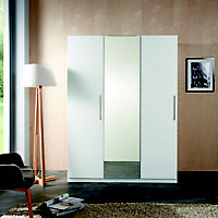 Form Darwin Modular White Wardrobe cabinet (H)2004mm (W)500mm (D)566mm