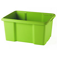 Form Fitty Green 26L Plastic Stackable Storage box