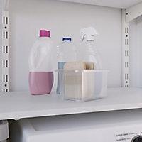 Form Kaze Clear 1L Plastic XXXS Stackable Storage box & Lid