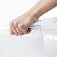 Form Kaze Clear 29L Plastic Medium Stackable Storage box