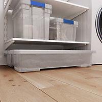 Form Kaze Clear 50L Plastic XL Stackable Storage box