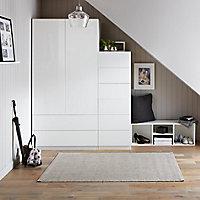 Form Konnect White 3 Cube Shelving unit (H)1032mm (W)352mm (D)317mm