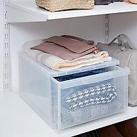 Form Kontor Clear 8L 1 drawer Stackable Drawer tower