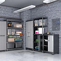 Form Links 2 shelf Polypropylene Short Utility Storage cabinet