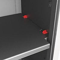 Form Links 2 shelf Polypropylene XL Short Utility Storage cabinet