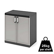 Form Links 2 shelf Polypropylene XL Short Utility Storage cabinet